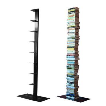 Radius Bücherregal Booksbaum 2 schwarz einreihig stehend gross - 735 a – Bild 1