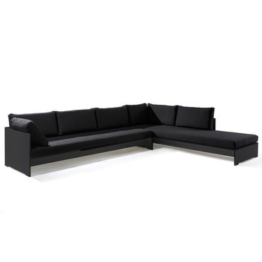 Conmoto Riva Lounge - Kombination 1 / A anthrazit - Sitzgarnitur - 320 cm x 240 cm mit Chaiselongue