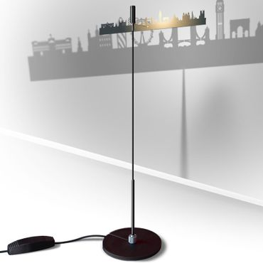 Absolut Stehleuchte Shining Image London 75 cm Lampe