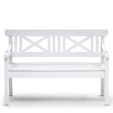 skagerak drachmann bank 165 cm weiss gartenbank s1100510 eingang garten gartenm bel gartenb nke. Black Bedroom Furniture Sets. Home Design Ideas