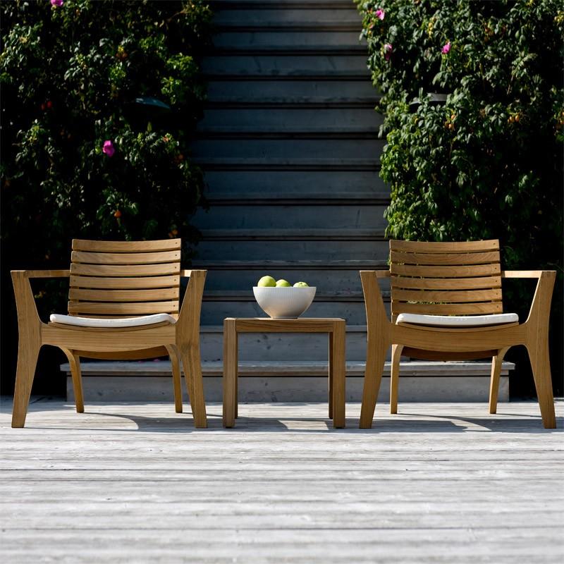 Gartensessel lounge  Skagerak Regatta Lounge Stuhl Teak Gartensessel S1508500 Eingang ...