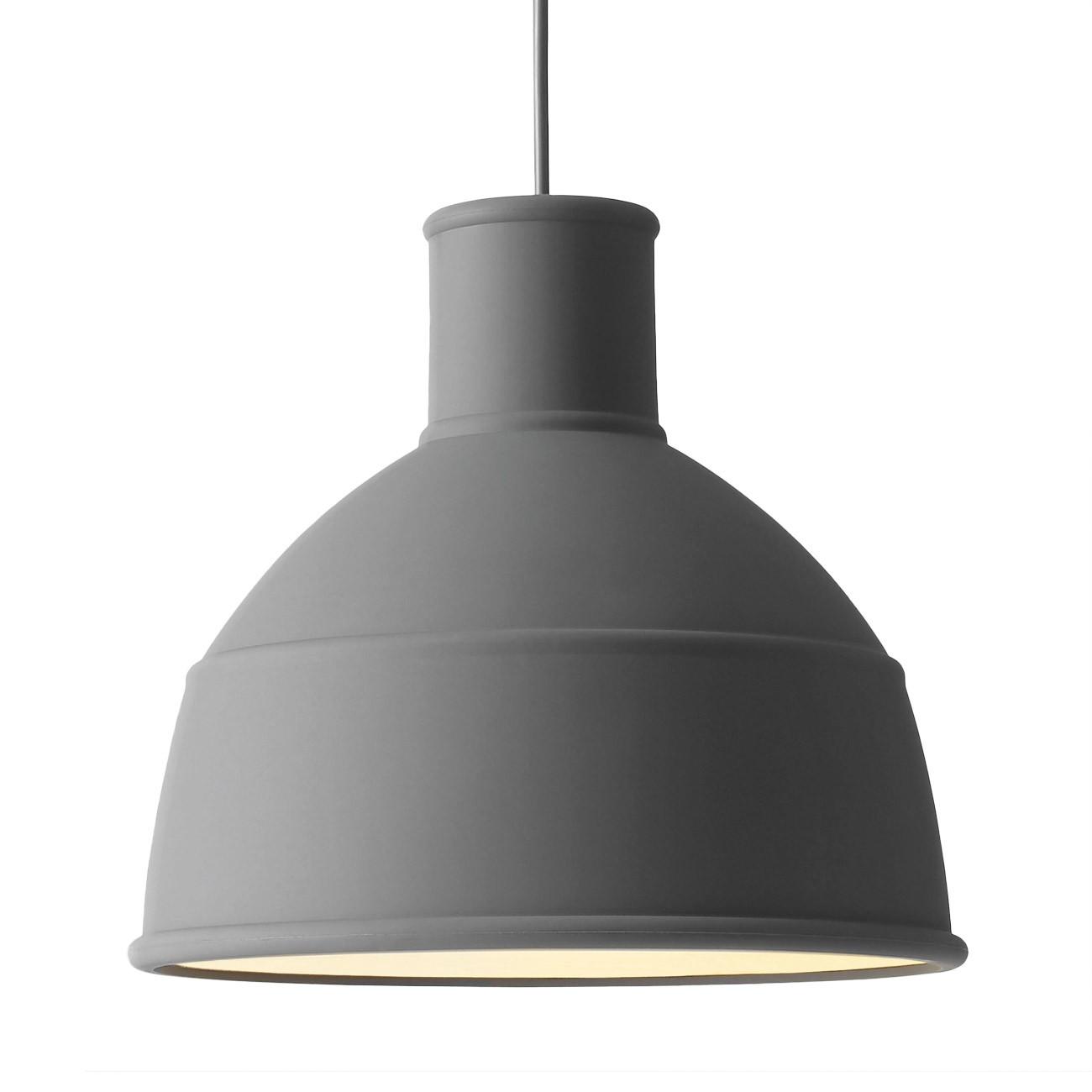 muuto unfold h ngeleuchte grau 32 5 cm 09001 m bel lampen leuchten pendelleuchten. Black Bedroom Furniture Sets. Home Design Ideas