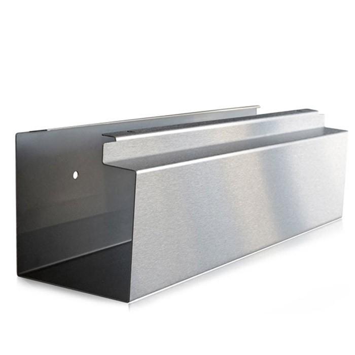 radius zeitungsrolle edelstahl eckig letterman 505 l eingang garten briefk sten zeitungsrollen. Black Bedroom Furniture Sets. Home Design Ideas
