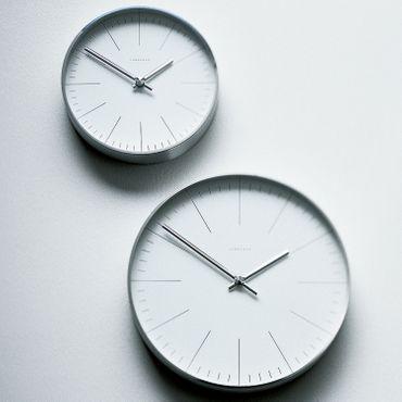 Max Bill Wanduhr Strich 30 cm Funkuhr by Junghans – Bild 5