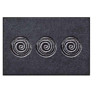 Salonloewe Fußmatte waschbar Finn Anthrazit 50x75 cm SLD0875-050x075