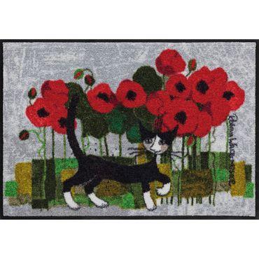 Rosina Wachtmeister Fußmatte Lifestyle Poppywalk 50x75 cm SLD1095-050x075