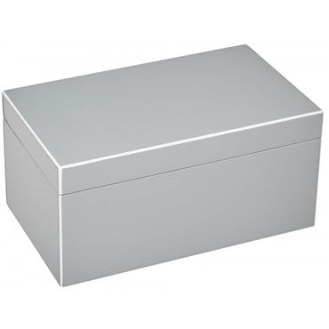 Giftcompany Tang Schmuckbox M flannel / grau 28x13x17 cm