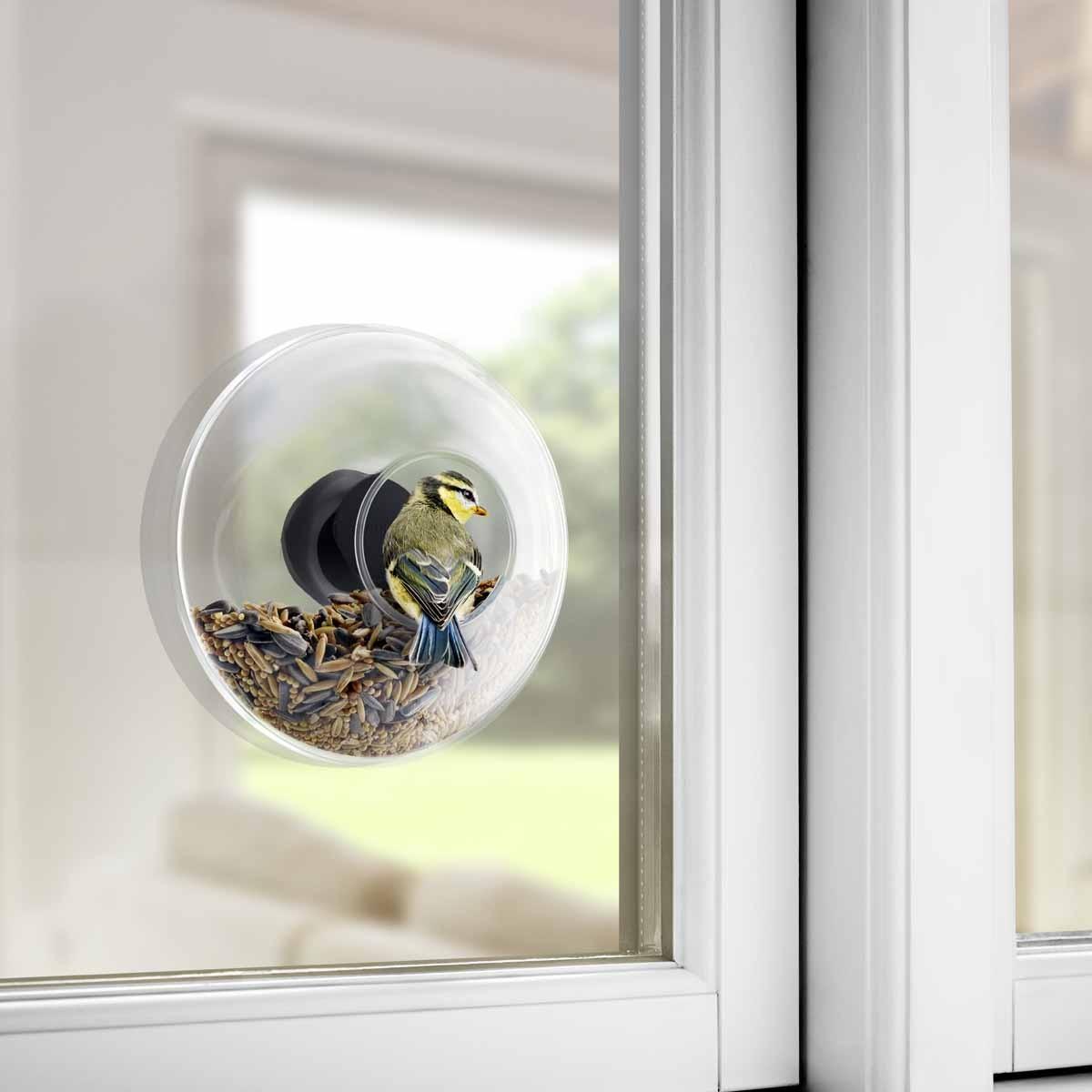 Eva Solo Vogelfutterkugel für die Fensterscheibe D 14,3 cm ...