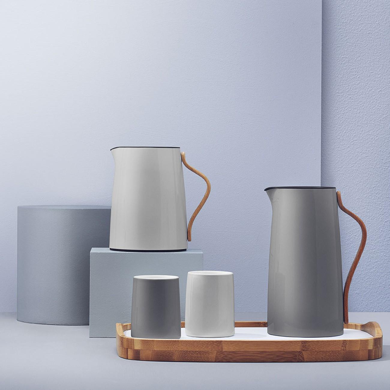 stelton emma isolierkanne kaffee 1 2 l grau kaffeekanne x 200 1 speisen servieren kannen. Black Bedroom Furniture Sets. Home Design Ideas