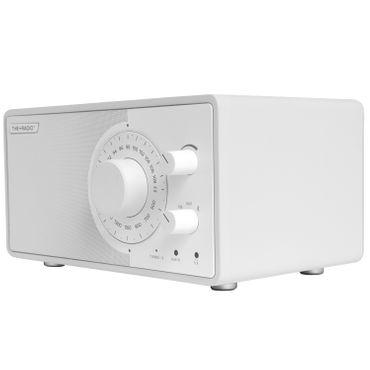 THE+AUDIO PlusRadio Analogradio (UKW, Mittelwelle, Bluetooth 4.0) weiss