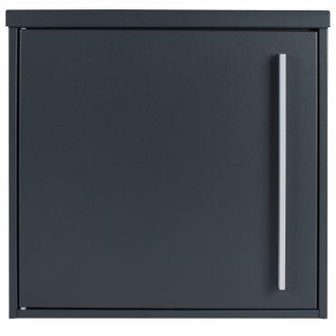 Briefkasten MOCAVI Box 101 anthrazitgrau (RAL 7016)/grau 10 Liter ohne Zeitungsfach