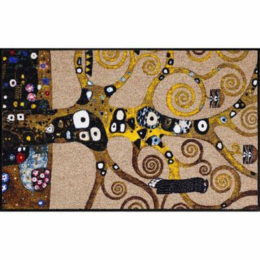 Salonloewe Fußmatte waschbar Ethno Impressions Klimt Lebensbaum 75x120 cm SLD1316-075x120