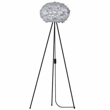 Umage / VITA Stehleuchte Eos light grey für A++ bis E inkl. Tripod schwarz D 45 cm Tripod H 109 cm Lampe