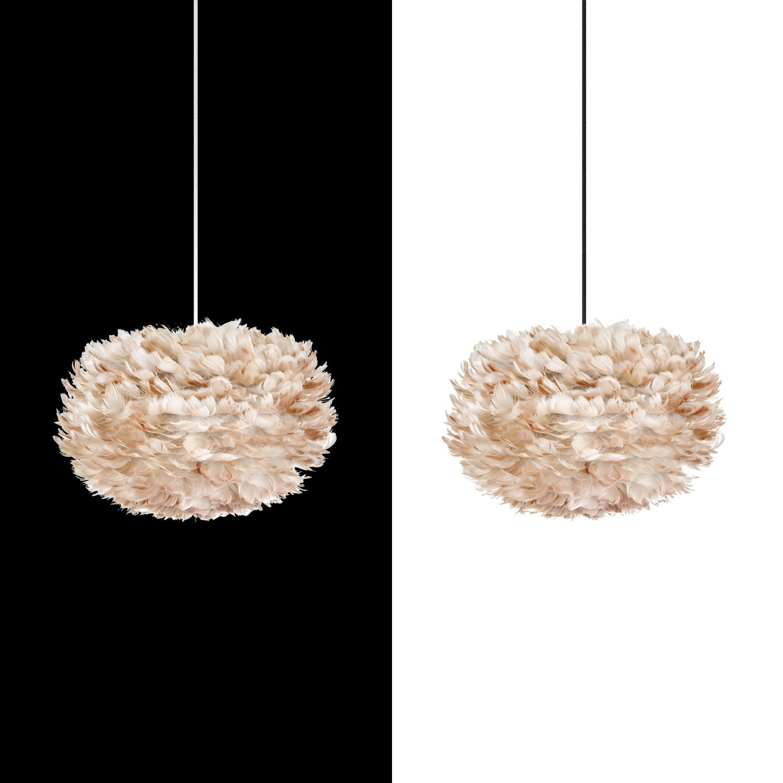 umage vita eos lightbrown h ngeleuchte f r a bis e inkl kabel set schwarz lampe m bel. Black Bedroom Furniture Sets. Home Design Ideas