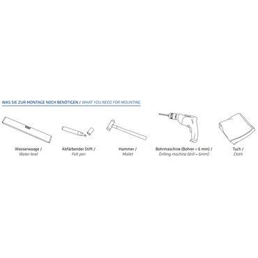 MOCAVI RING 120 Edelstahl-Design-Klingel anthrazit-grau matt RAL 7016 rund (8 cm) dunkel-grau – Bild 3