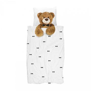 Snurk Bettwäsche Teddy 135 x 200 cm 100% Baumwolle