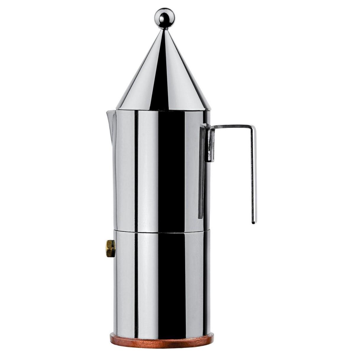 alessi espressomaschine la conica 30 cl 90002 6 k che kochen kaffee tee espressokocher. Black Bedroom Furniture Sets. Home Design Ideas