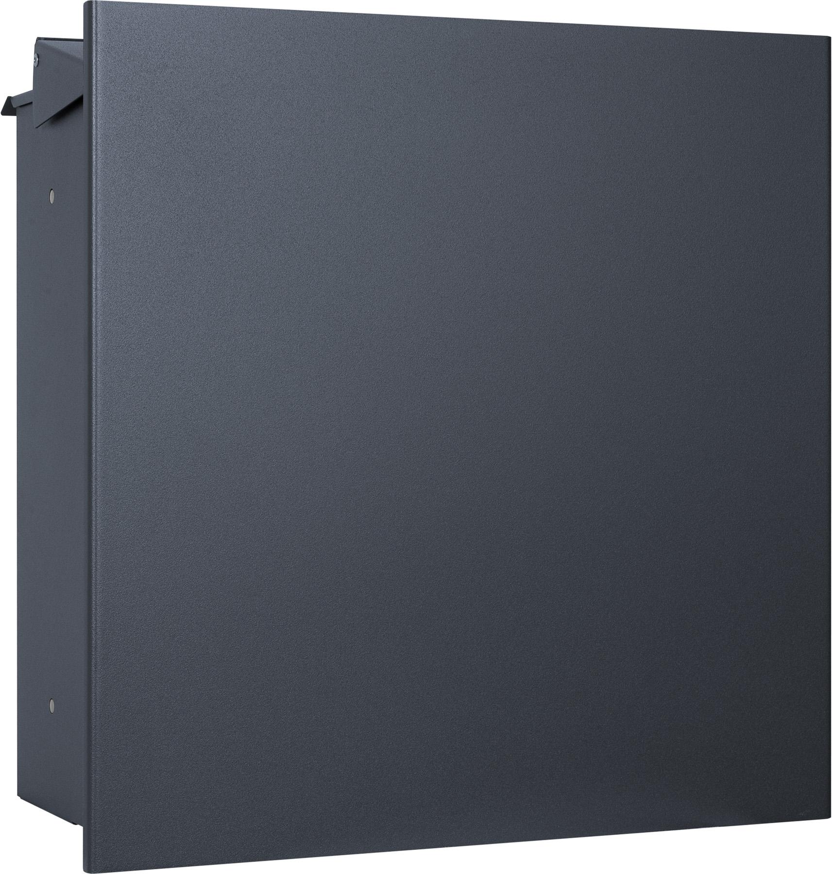 mocavi zbox 111 zaunbriefkasten anthrazit ral 7016 eingang. Black Bedroom Furniture Sets. Home Design Ideas