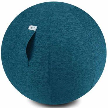 Vluv Stov Stoff-Sitzball Durchmesser 60-65 cm Petrol / Blau - Grün