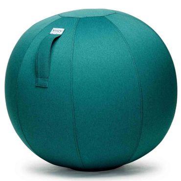 Vluv Leiv Stoff-Sitzball Durchmesser 60-65 cm Dark Petrol / Blau - Grün