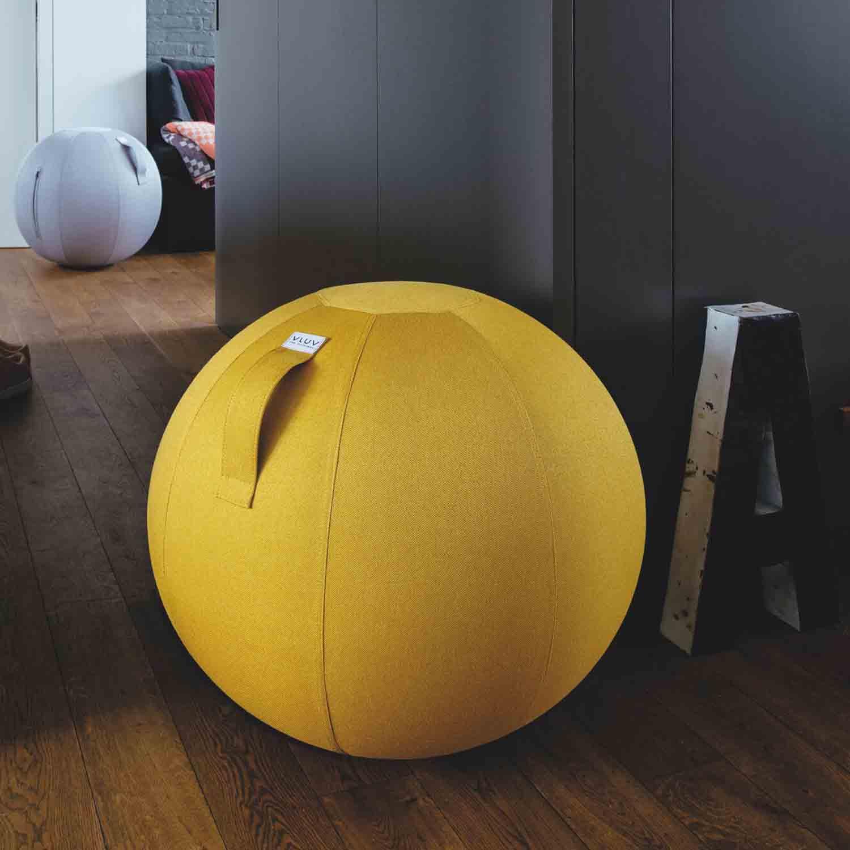 vluv leiv stoff sitzball durchmesser 70 75 cm mustard senfgelb m bel sitzm bel sitzb lle aus stoff. Black Bedroom Furniture Sets. Home Design Ideas