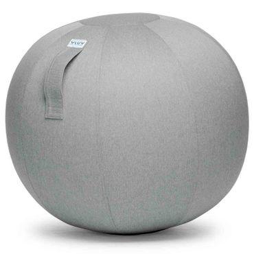 Vluv Leiv Stoff-Sitzball Durchmesser 60-65 cm Silver / Hellgrau