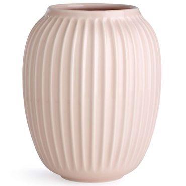 Kähler Hammershøi Vase rose mittel Höhe 20 cm aus Porzellan