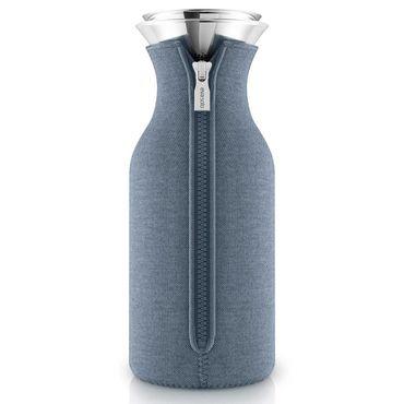 Eva Solo Kühlschrankkaraffe mit Anzug steel blue / stahlblau 1,0 Liter