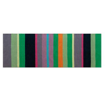 Remember Teppichläufer Kiwi lang 250 cm 100% Baumwolle