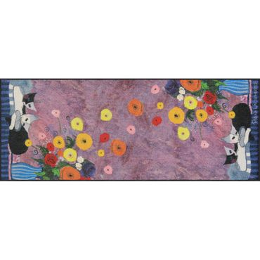 Rosina Wachtmeister Sleep Well Salonloewe Fußmatte waschbar 75 x 190 cm