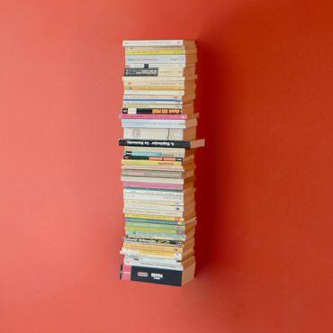 Radius Booksbaum Wandregal schwarz 2 klein - 724 a – Bild 3