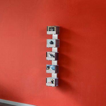 Radius CD-Baum Regal weiss Wand 2 klein 726 B