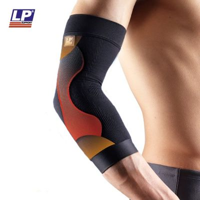 LP Support 250 Power Sleeve Kompressions-Ellenbogenbandage – Bild 7