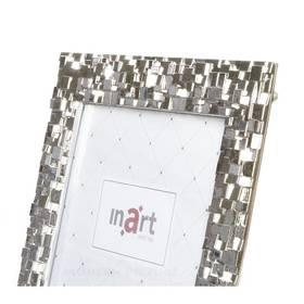 Fotorahmen Bilderrahmen Silber Metall 10x15 Hoch Quer  – Bild 3