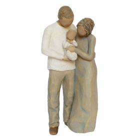 Willow Tree Figur Wir drei zusammen We are three Familie – Bild 1