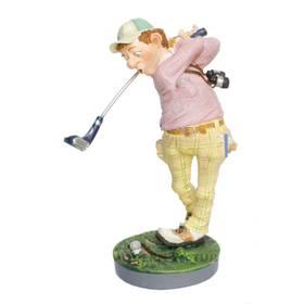Figur Golfer Golfspieler Sportfigur Profisti witzig ironisch
