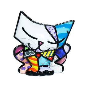 ROMERO BRITTO Katze Mini Figur Sugar Cat Pop Art Kunst – Bild 1