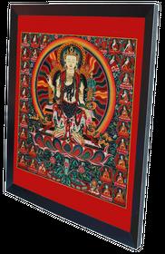 Thangka Buddha Maitreya Reproduktion auf Fine-Art-Papier oder Leinwand – Bild 8