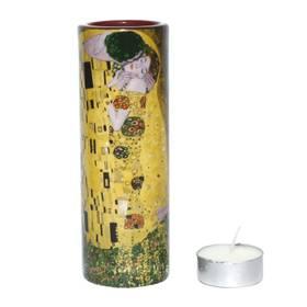 Teelicht Gustav Klimt Der Kuss Porzellan Jugendstil