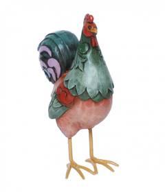 Rooster Hahn Figur von Jim Shore optisch wie Holz – Bild 2