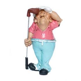 Golfer Golfspieler Sport Figur Comic Funny Jobs – Bild 1