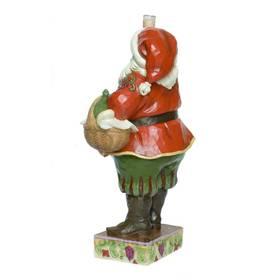 Weihnachtsmann mit Weinglas Santa with Wine Jim Shore – Bild 2