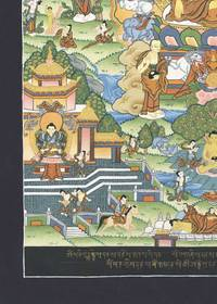 Thangka Leben des Buddha Shakyamuni Reproduktion Fine-Art-Papier oder Leinwand – Bild 4