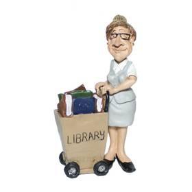 Sekretärin Bürokauffrau Beruf Figur Comic Funny Jobs