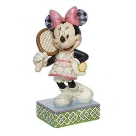 Minnie Mouse Figur Tennis Spielerin Disney Tradition Jim Shore – Bild 1