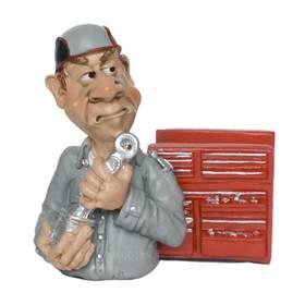 Notizzettelhalter Handyhalter Kfz-Schlosser Mechaniker witzig und ironisch Funny Jobs – Bild 1