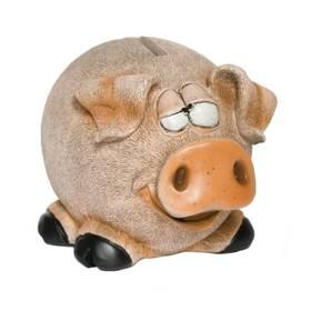 Spardose Sparbüchse Spar-Schwein Tier im Boden zum Öffnen – Bild 1