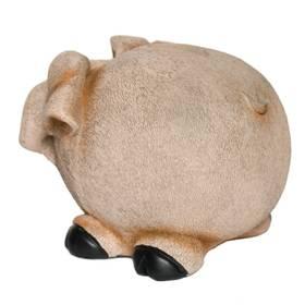 Spardose Sparbüchse Spar-Schwein Tier im Boden zum Öffnen – Bild 2