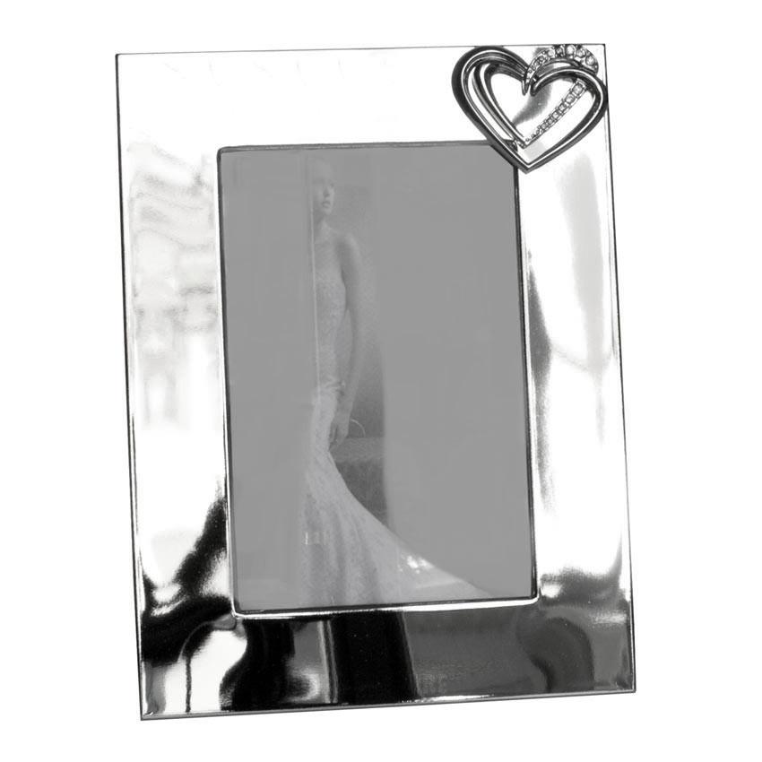 Fotorahmen Bilderrahmen Silber In Hochglanz Fur Bildgrosse 10 X 15