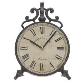 Uhr Tischuhr Antik Retro Stil Metall